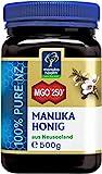 Manuka Health - Manuka Honig MGO 250+ 500g - 100% Pur aus Neuseeland mit zertifiziertem Methylglyoxal Gehalt