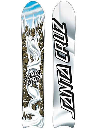 Santa Cruz Snowboard da Uomo Freeride Wizard 158 2020