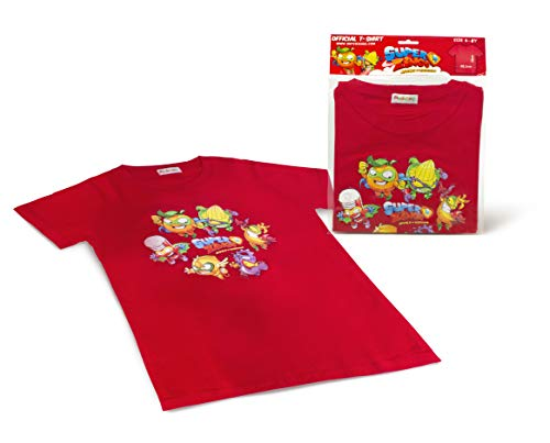 Magic Box 8431618009161 SuperZings - Camiseta, Color Rojo