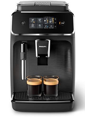 Philips EP2220/10 SensorTouch Benutzeroberfläche Kaffeevollautomat, schwarz-gebürstet