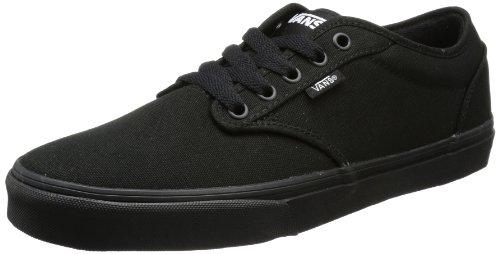 Vans Atwood, Sneaker Uomo, Nero (Canvas) Black, 48 EU