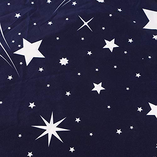 Wondder 3 Pièces Ensemble de Housse de Couette en Polyester Super Doux Ensemble de Literie Oreiller de Douche Météore (200 * 200 cm) 24