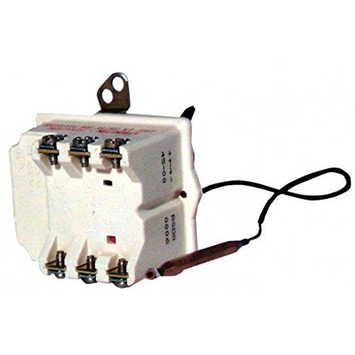 Cotherm - Thermostat de chauffe eau - Type BSD 370 modèle à 1 bulbe contact tri - : BSD0000607