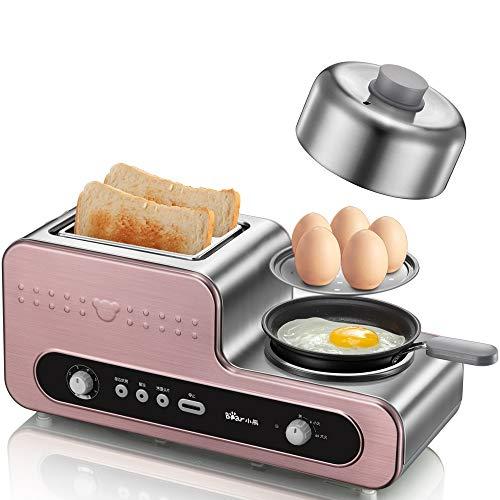 Cucina multifunzione macchina colazione antiaderente padella, tostapane, cucina uova al vapore,...