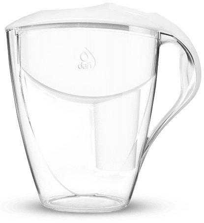 Dafi Astra (LED) Classic 3L water filter jug with cartridges bundle (white) (1 month of Dafi Classic) (1 cartridge)