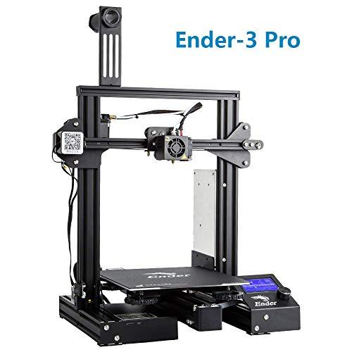 Creality 3D Ender-3 Pro Stampante 3D con Aggiornamento Cmagnet Costruisci Piastra di Superficie e...