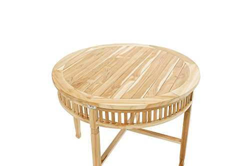 Ploß Teakholz-Tisch Pasadena in 2 Größen – Premium Gartentisch mit ...