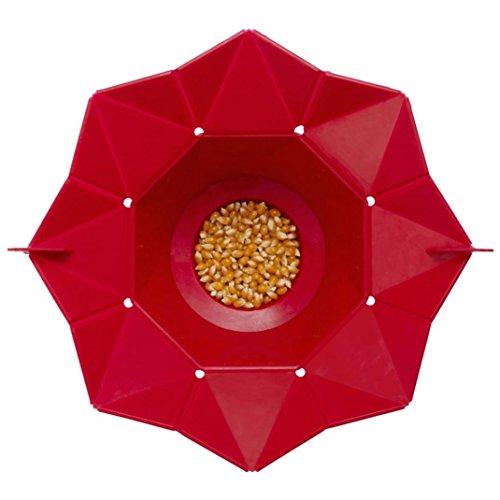 VENMO Recipiente de Palomitas de Maíz de Microondas Magia Hogar Popcorn Maker Contenedor Herramientas de Cocina Saludable