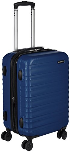 AmazonBasics - Valigia Trolley rigido, 55 cm (utilizzabile come bagaglio a mano di dimensioni...