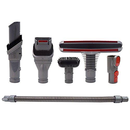 Spazzola Kit di Ricambi per Dyson V8 V7 V10 Aspirapolvere con Prolunga Tubo,Accessori per Dyson V6...