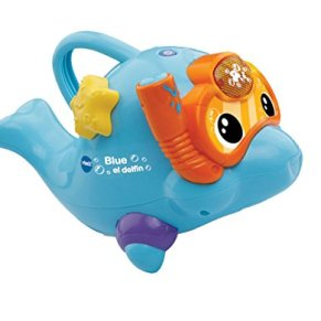 VTech- Divertido delfín Interactivo para el Agua, Blue (3480-186922)