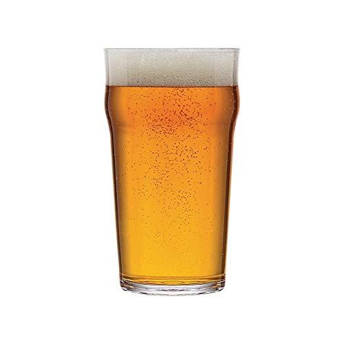 Arcoroc Nonic 57cl Pinta–Bicchiere da birra–Set di 6