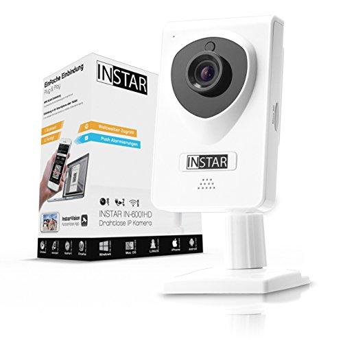 INSTAR IN-6001HD HD IP Kamera / Überwachungskamera / ipcam mit LAN / Wlan / Wifi zur Überwachung...