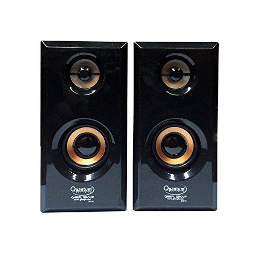 Quantum QHMPL QHM630 2.0 Multimedia Speakers (Color may Vary)