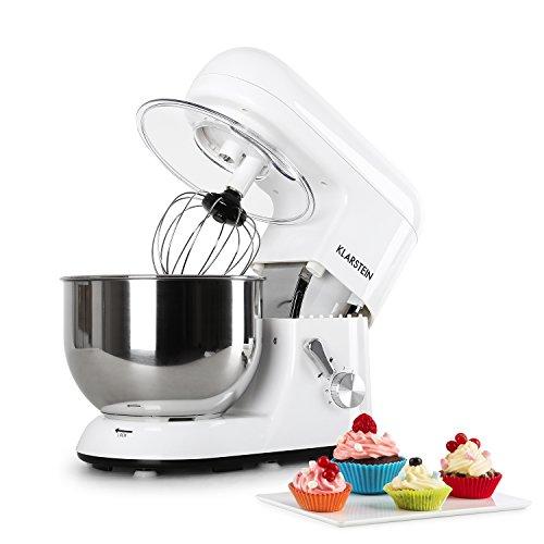 Klarsteinstein Bella Bianca • robot da cucina • mixer • impastatrice • 1200 W • 6 PS •...