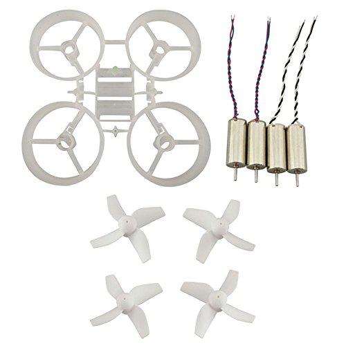 Fytoo Piccoli kit di telaio da/ Motore/ CW CCW elica Per JJRC H36 EACHINE E010 FPV Micro Quadcopter...