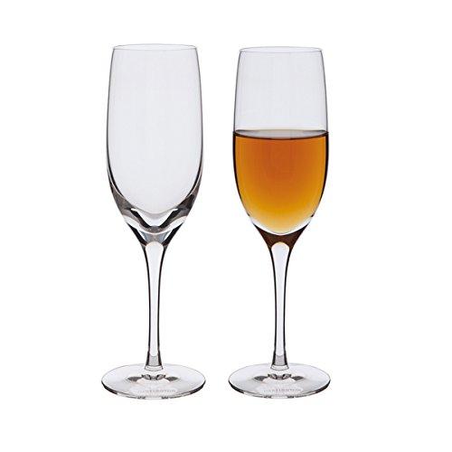 DARTINGTON Crystal-Bicchiere Alto da Sherry di Vino, Colore: Trasparente, Confezione da 2