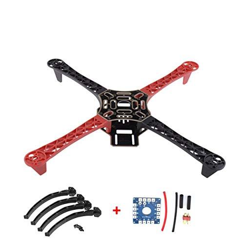 Tree-of-Life F450 450 Drone Arm Frame Interasse con Landing Gear Wheel Leg 12V Kit Scheda elettrica...