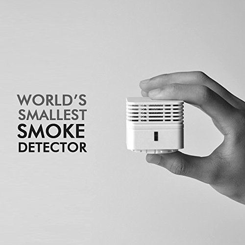 Smiledrive World's Smallest ABS Photoelectric Smoke Alarm Detector (White) 5