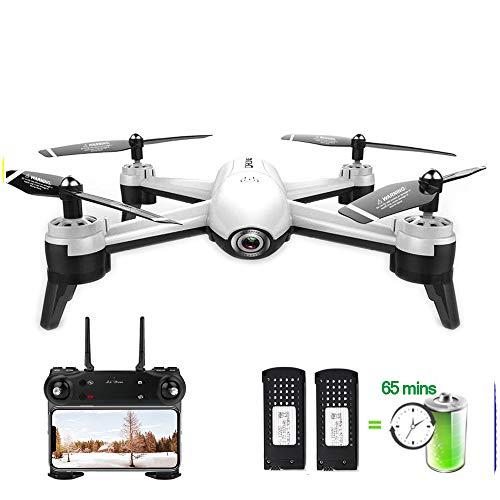 HUAXING RC Mini Drone da Corsa 4k con videocamera HD Professionale Optical Flow Dual Camera Aerial...