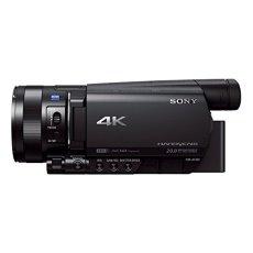 """Sony Handycam FDR-AX100E - Videocámara de 14.2 MP con Pantalla de 3.5"""" y WiFi, Negro"""