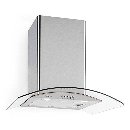 Klarstein Hotspot Cappa Aspirante da cucina a parete in acciaio (60 ...