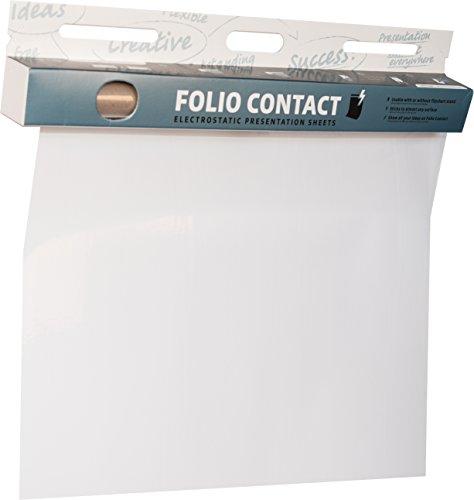 Folio Contact CB256080 - Fogli elettrostatici, 60 x 80 cm, 25 fogli, trasparente