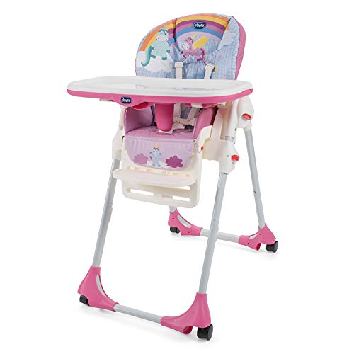 Chicco Polly Easy Unicorn Seggiolone, Multi
