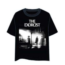 LAST LEVEL Camiseta el Exorcista Portada L Camisa Cami, Multicolor, Adultos Unisex