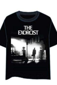 LAST LEVEL Camiseta el Exorcista Portada L Camisa Cami, Multicolor, Adultos Unisex