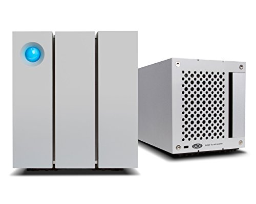 LaCie 2big Thunderbolt 2 16000GB Desktop Silver disk array - disk arrays (HDD, 16000 GB, HDD, 8000...