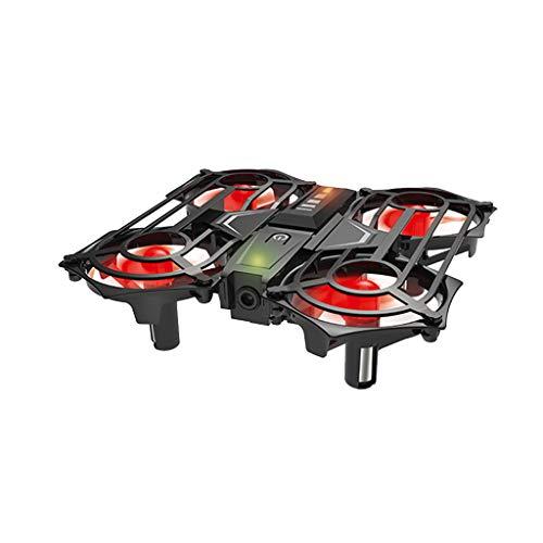 Drone Con Fotocamera Hd, Chshe, Mini Sensore Di Gravità Del Sensore A Infrarossi 2.4G Controllo Della Mano, Ripresa Volare Rc Quadcopter, Fatto Di Materiali Non Tossici Abs (Giallo)