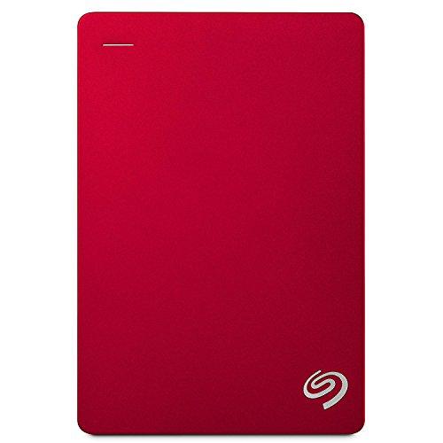 Seagate Backup Plus 5TB, rosso, hard-disk esterno portatile, 2,5' (STDR5000203)
