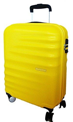 Trolley American Tourister Wavebreaker 4 Ruote colore Sunny yellow Misura 67 cm