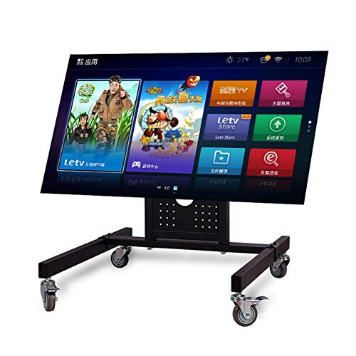 Xue Piano TV Stand Mount, Universal TV Cart, 360 º di Girevole, per 42-85 Pollici LCD TV A LED, con...