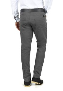 Blend-Saturn-Herren-Chino-Hose-Stoffhose-Aus-Stretch-Material-Slim-Fit-GreW3034-FarbeEbony-Grey-75111