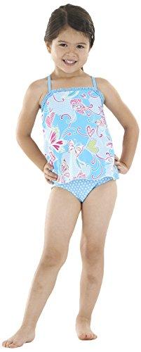 Zoggs Paradise Beach Swimdress - Traje de baño, Color Azul, Talla 21 Inch Chest/2 Years