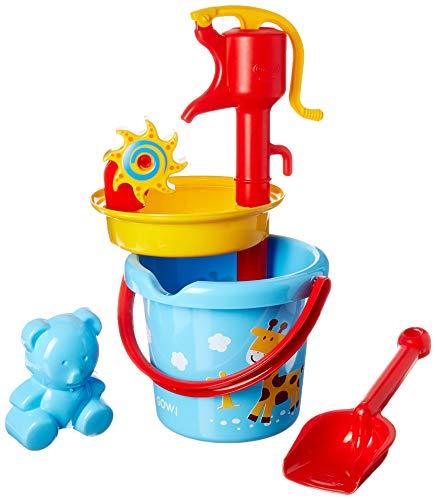 Gowi Toys 558-37 Kit Secchiello e Pompa[colori assortiti]