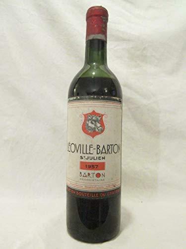 saint-julien château léoville-barton grand cru classé rouge 1957 - bordeaux france
