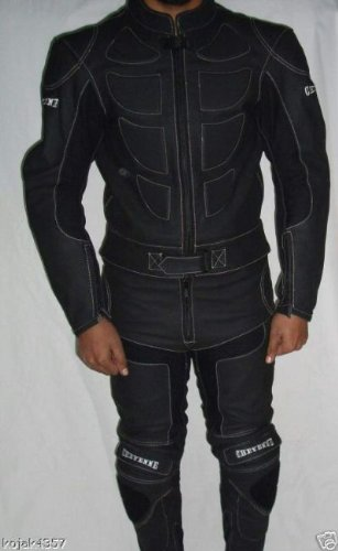 Monos de moto - De cuero - Negro