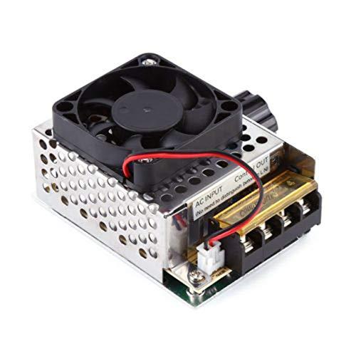 Fannty Dimmer del termostato del ventilatore del regolatore di velocità del motore del regolatore...
