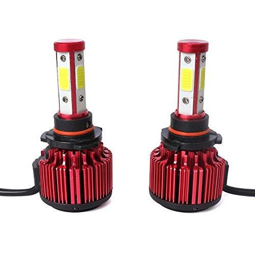 Luci di alta qualità, 2 PCS 9005 36W 3600lm 6000K faro a LED in oro per auto con 2 lampadine COB,...