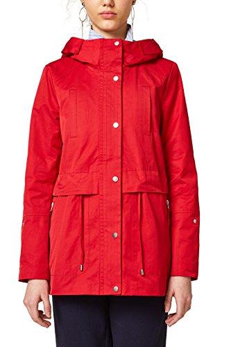 edc by Esprit 028cc1g006 Chaqueta, Rojo (Red 630), Medium para Mujer