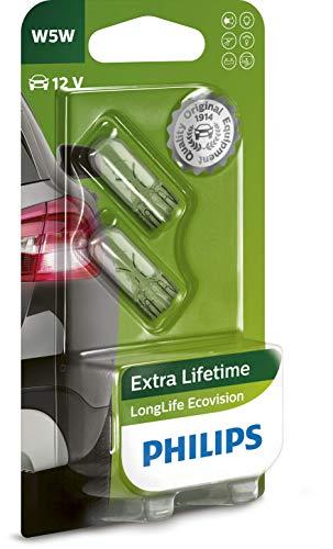 Philips 12961LLECOB2 - W5W Long Life EcoVision B2, 12V, 5W