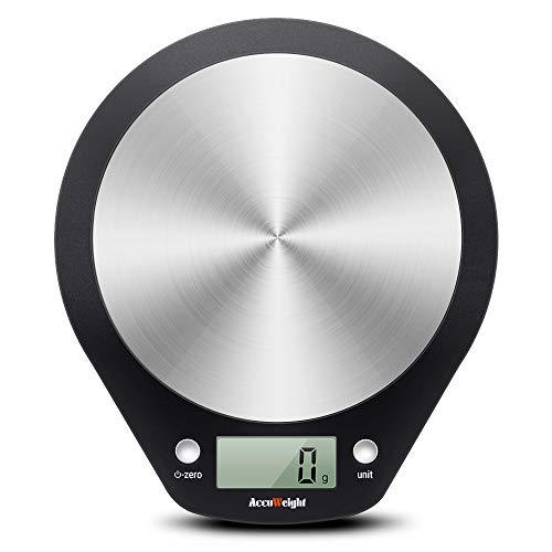 ACCUWEIGHT Bilancia da Cucina Digitale, Alta Precisione da 1g a 5 kg, Bilancia Elettronica e...