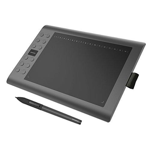 GAOMON M106K - Professionale 10 x 6 Pollici Disegno Digitale Penna Tavoletta Grafica con Senza Fili...