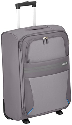 American Tourister Summer Voyager, Bagaglio a mano , Grigio (Volt grey), 38.5 liters, S (55...