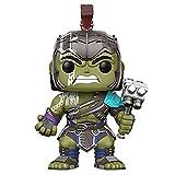 YONG FEI Bambola Modello Modello - Funko Pop! Marvel: Thor Ragnarok S1 - Hulk Gladiatore Casco Boutique (Colore : A)