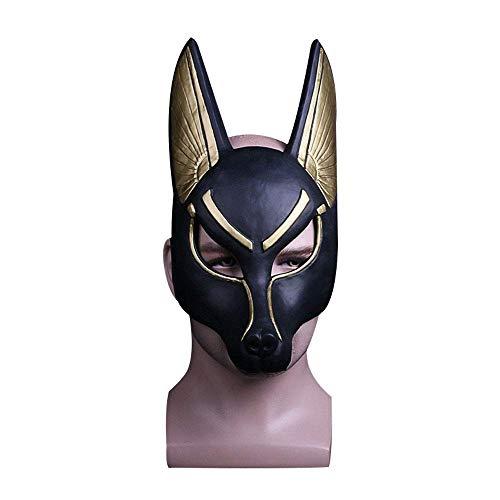 Máscara de Dios Anubis para disfraz