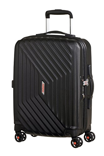American Tourister - Air Force 1 Spinner 55/20 Bagaglio a Mano (55cm-34L), Nero (Black)